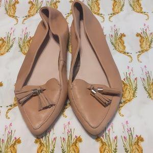 Aldo woman's tan shoes